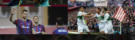 Fútbol: Resumen de la jornada 18, 2ª división e internacional