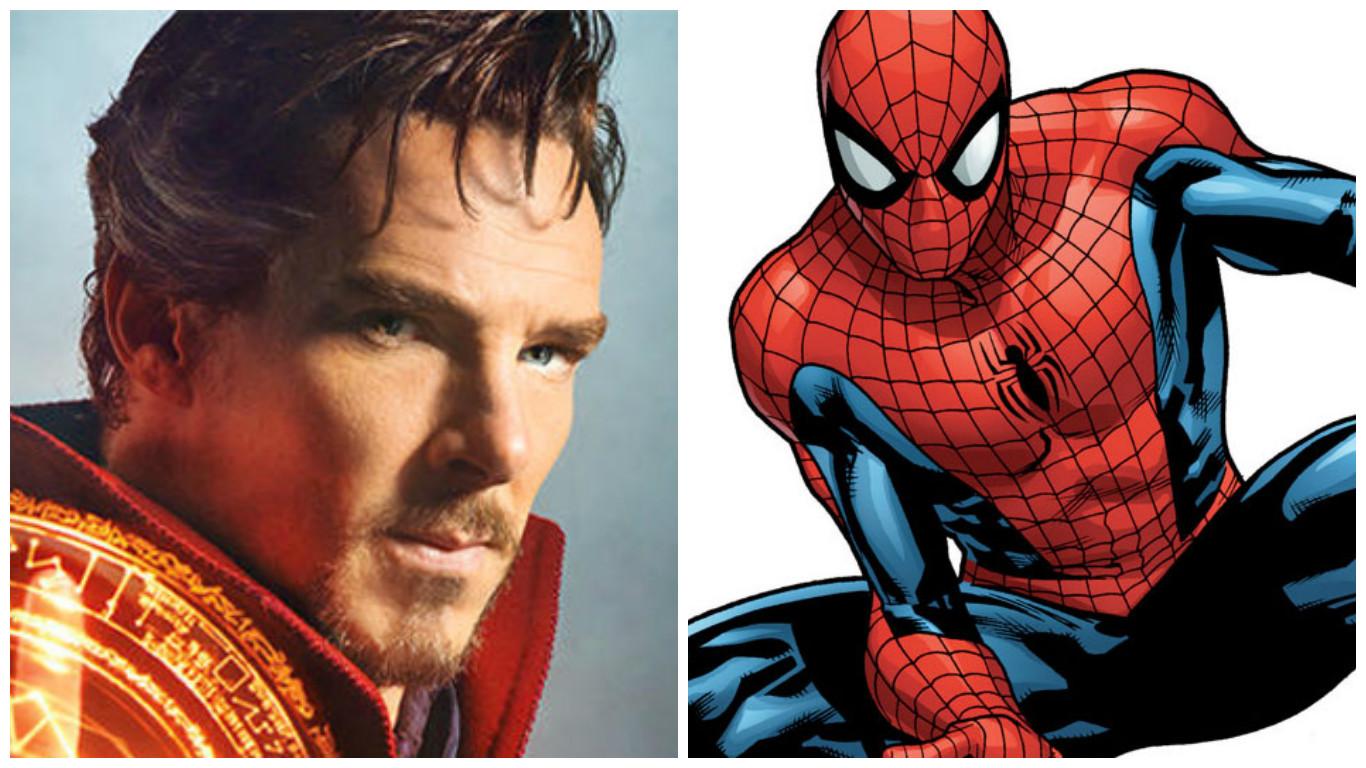 Combo de Marvel: Dr. Strange y Spiderman