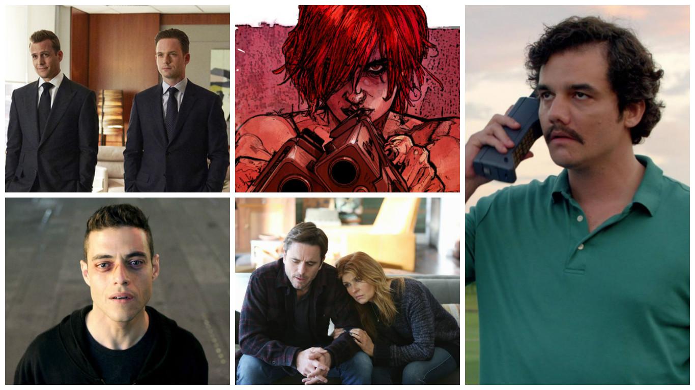 Combo de Noticias: Narcos, Mr Robot, Suits, Nashville y Scarlet