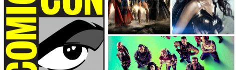 Comic-Con: Paneles de Justice League, Wonder Woman y Suicide Squad