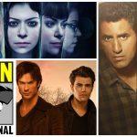 Comic-Con: Paneles de The Vampire Diaries, Orphan Black y Fear the Walking Dead