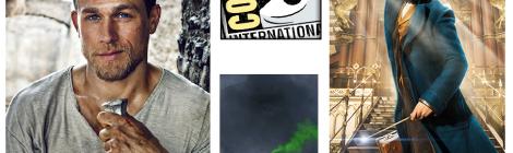 Comic-Con 2016: Trailers de Kong Skull Island, Animales fantásticos y dónde encontrarlos y King Arthur