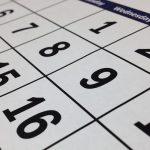 Calendario de series. Temporada 2017/2018 (otoño)