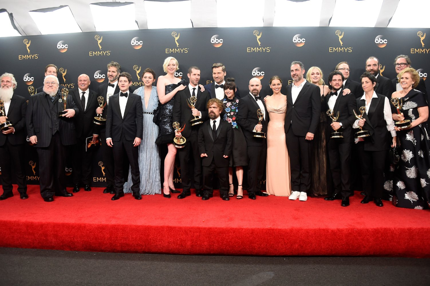 Game of Thrones cast Emmy 2016