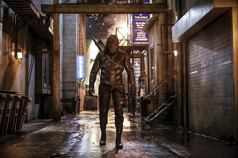 Villano enmascarado Arrow 5x01
