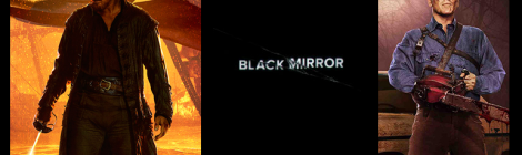 Combo de noticias: Black Mirror, Black Sails y Ash vs. Evil Dead