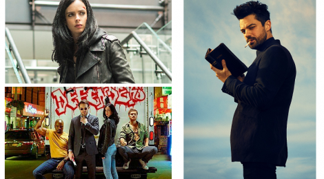 Combo de Noticias: The Defenders, Jessica Jones y Preacher