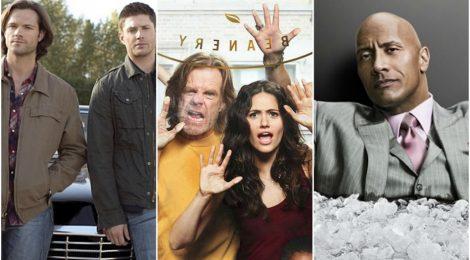 Combo de noticias: Supernatural, Shameless y Ballers