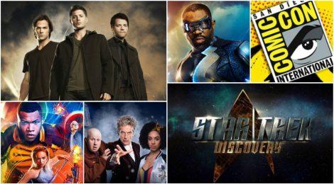Comic-Con 2017: Paneles de Doctor Who, Supernatural, LoT, Star Trek y Black Lightning