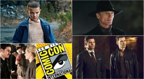 Vídeos de la Comic-Con: Westworld, Stranger Things, The Originals y OUAT