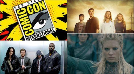 Vídeos de la Comic-Con 2017: Vikings, The Defenders y The Gifted