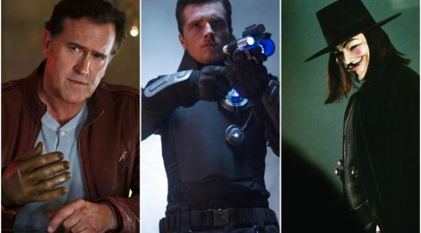 Combo de Noticias: Ash vs Evil Dead, Future Man y V for Vendetta