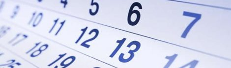 Calendario 2017/2018 (invierno-primavera)