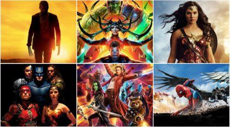 Ranking de películas de superhéroes (2017)
