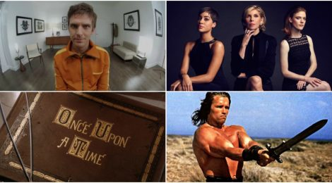 Combo de Noticias: OUAT, Legion, The Good Fight y Conan