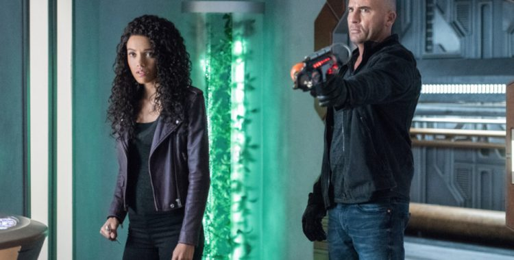 Review Legends of Tomorrow: Necromancing the Stone
