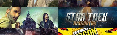 Comic-Con 2018: Promos de Star Trek Discovery, TWD, FTWD, Vikings y Good Omens