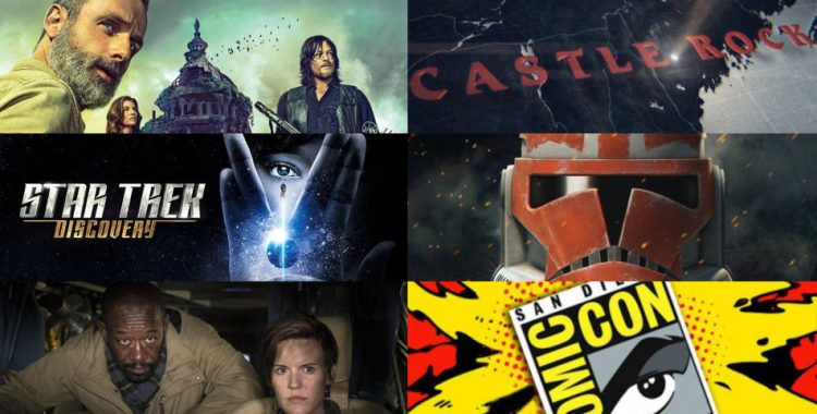 Comic-Con 2018: Paneles de Castle Rock, Star Trek Discovery, Clone Wars, TWD y FTWD