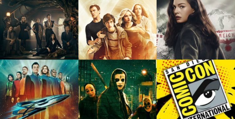 Comic-Con 2018: Promos de The Magicians, The Purge, The Man in the High Castle, The Orville y The Gifted