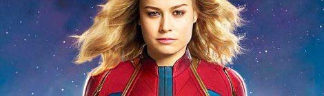 Captain Marvel: teaser tráiler y póster