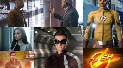 Especial The Flash (100 episodios): Personajes secundarios