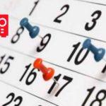 Calendario 2018/2019 (invierno/primavera)