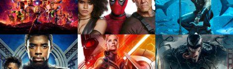 Ranking de películas de superhéroes (2018)
