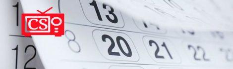 Calendario 2018/2019 (primavera-verano)
