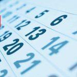 Calendario 2019/2020 (verano)