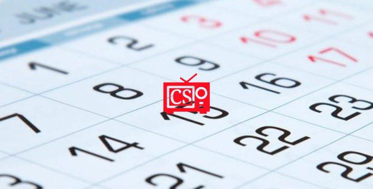Calendario 2020/2021 (otoño-invierno)
