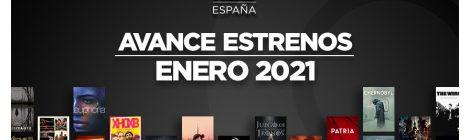Estrenos de HBO España en enero