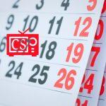 Calendario 2020/2021: invierno/primavera