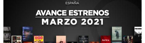 Estrenos de HBO España en marzo