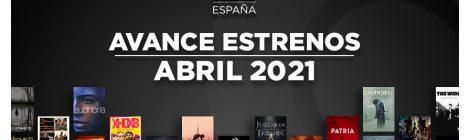 Estrenos de HBO España en abril