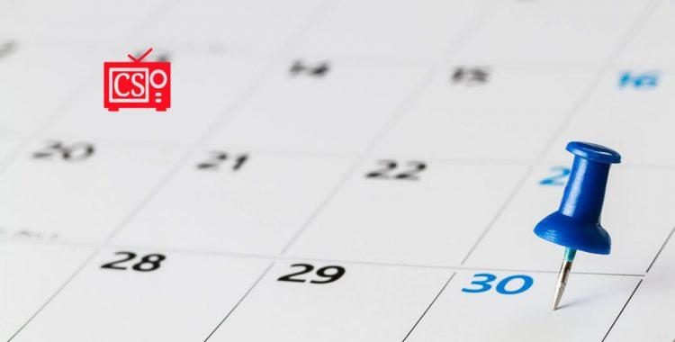 Calendario 2020/2021: verano
