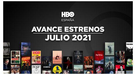 Estrenos de HBO España en julio