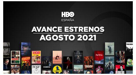 Estrenos de HBO España en agosto