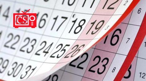 Calendario 2021/2022 (otoño-invierno)